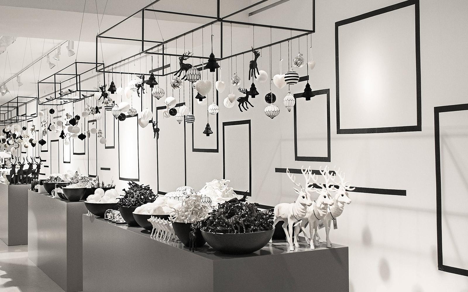 Christmas 2014 flagship store for Normann copenhagen shop