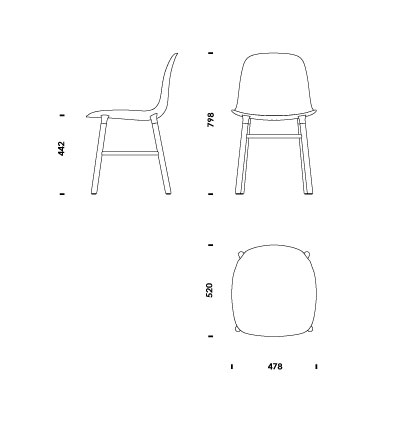 Form Chair | Normann Copenhagen | Pictogram