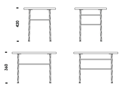 Download D D CAD Files - Picnic table dwg