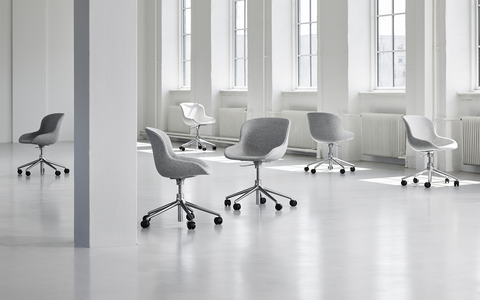 Hyg Swivel Chair - Normann Copenhagen