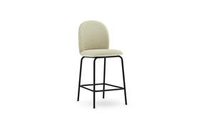 Ace Bar Chair 65 cm Full Uph Black Steel1