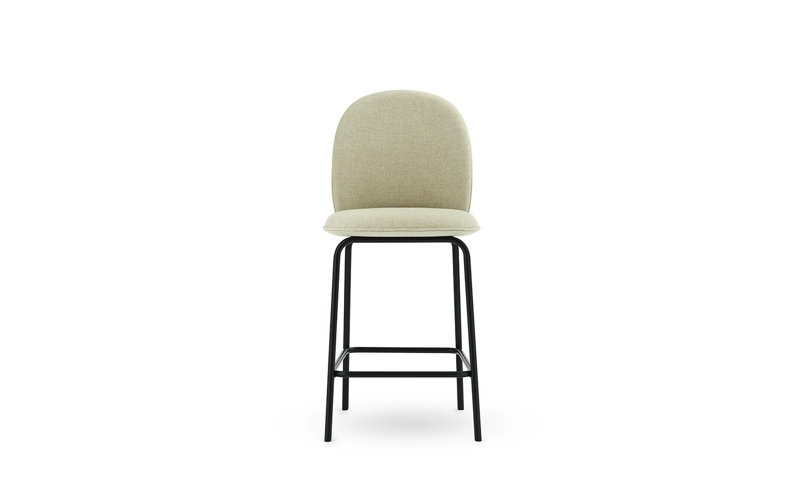 Ace Bar Chair 65 cm Full Uph Black Steel2