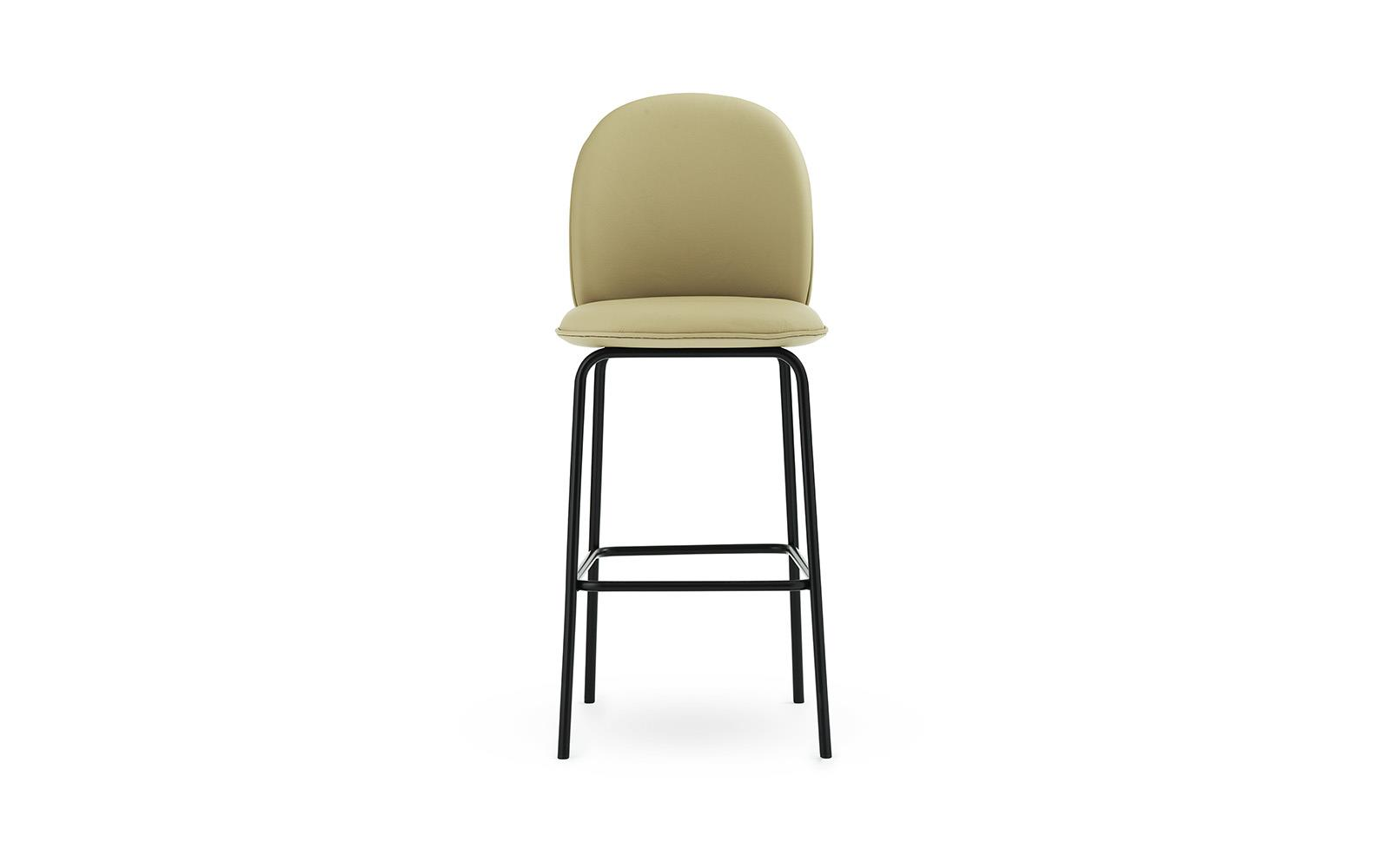 Ace Bar Chair 75 cm Full Uph Black Steel2