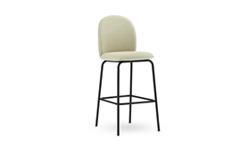 Ace Bar Chair 75 cm Full Uph Black Steel1