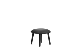 Ace Footstool Black1
