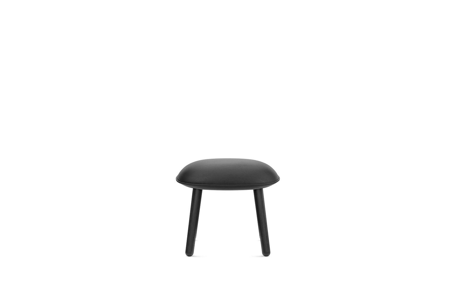 Ace Footstool Black2