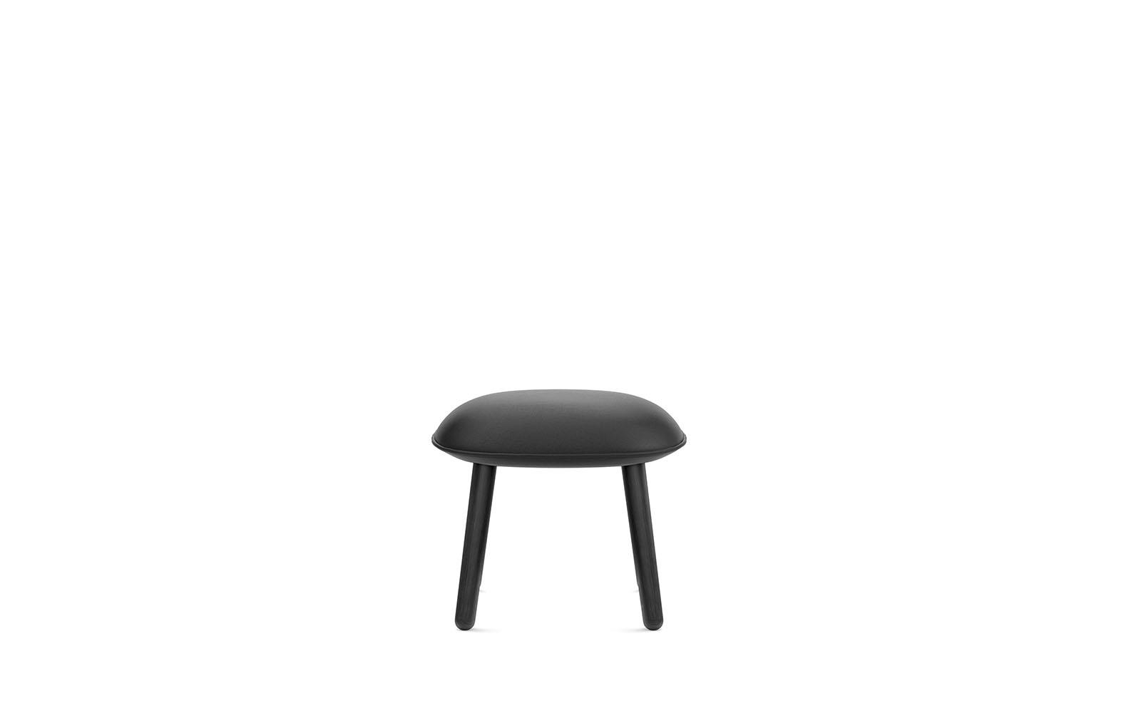 Ace Footstool Black4