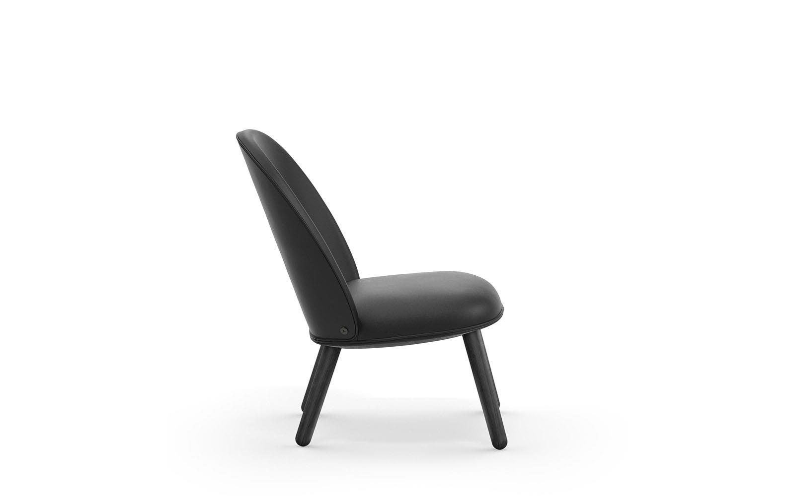 Ace Lounge Chair Black3