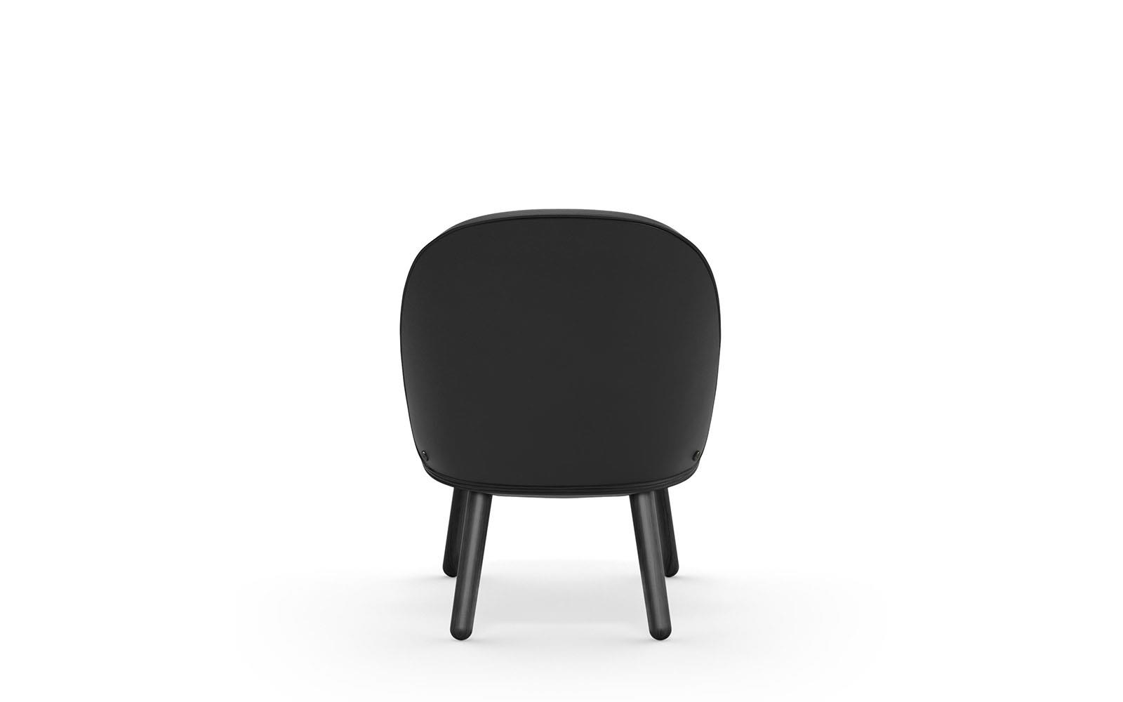 Ace Lounge Chair Black4