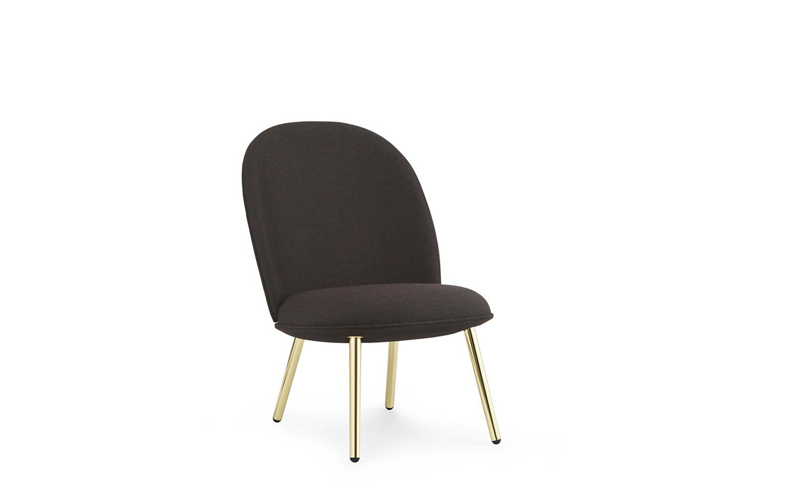 Ace Lounge Chair Brass1