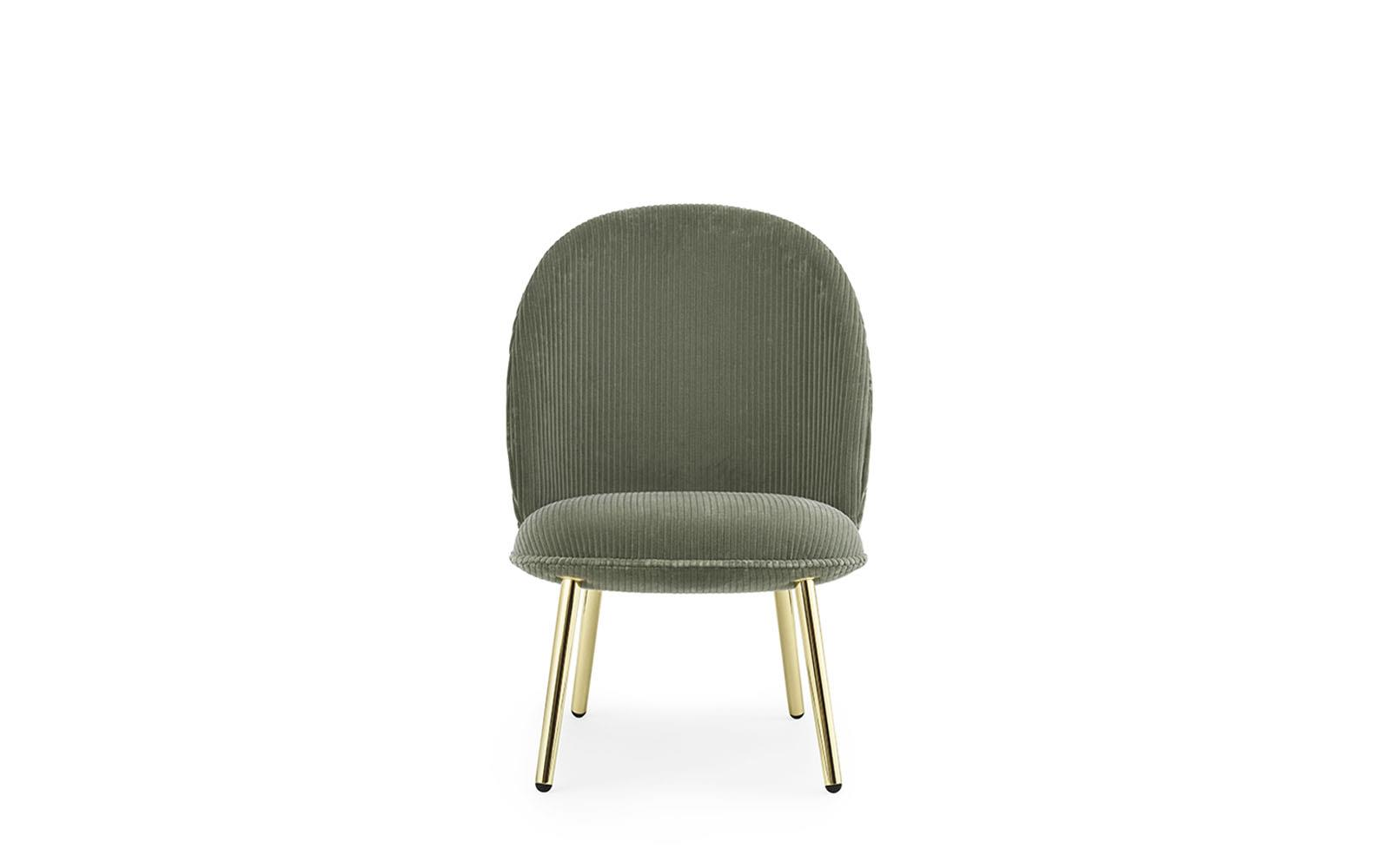Ace Lounge Chair Brass2