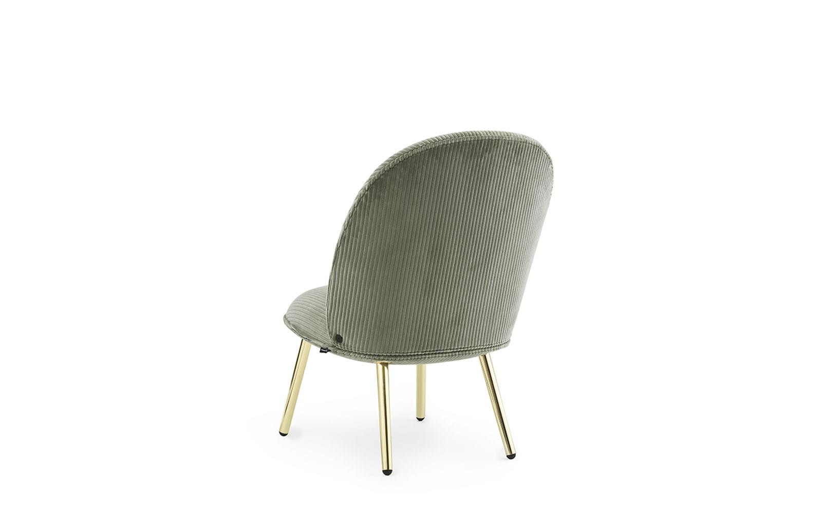Ace Lounge Chair Brass3