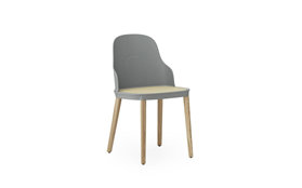 Allez Chair Molded wicker Oak1