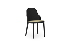 Allez Chair Molded Wicker BlackPolypropylene1