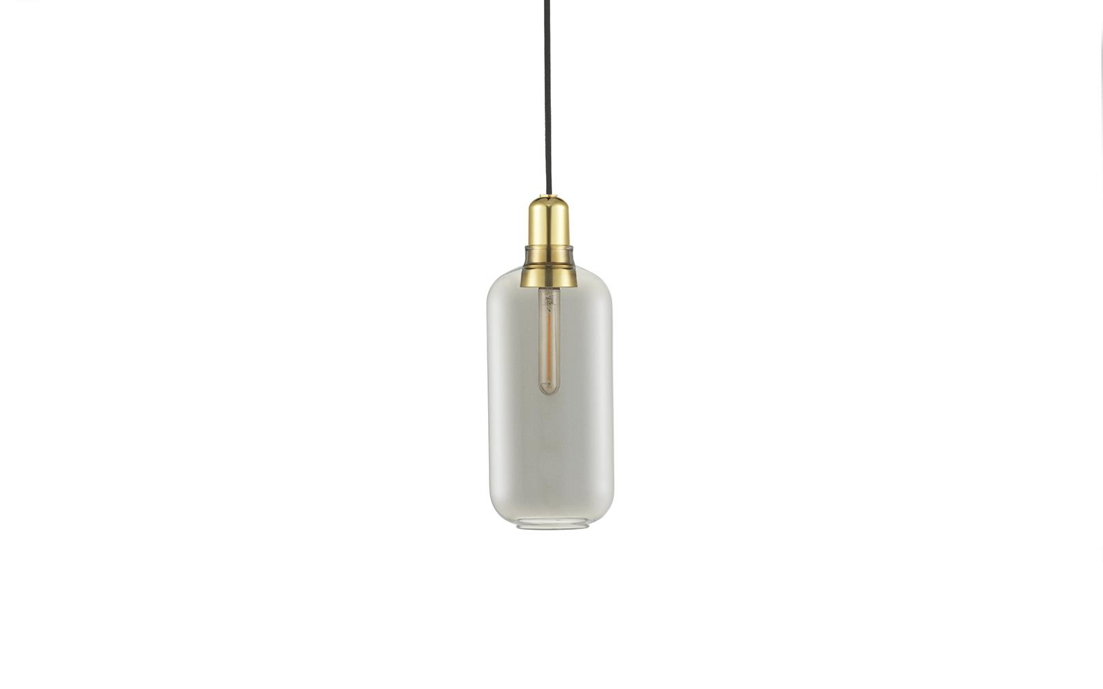 Amp Lamp Large Brass EU1