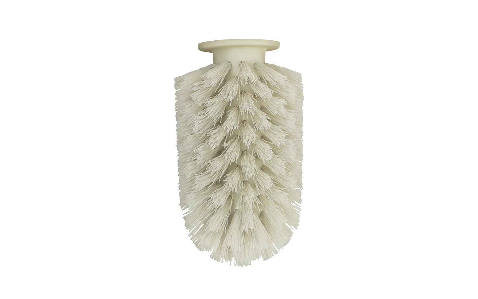 Toilet Brush Head : Ballo brush head in grey replacement head for ballo toilet brush