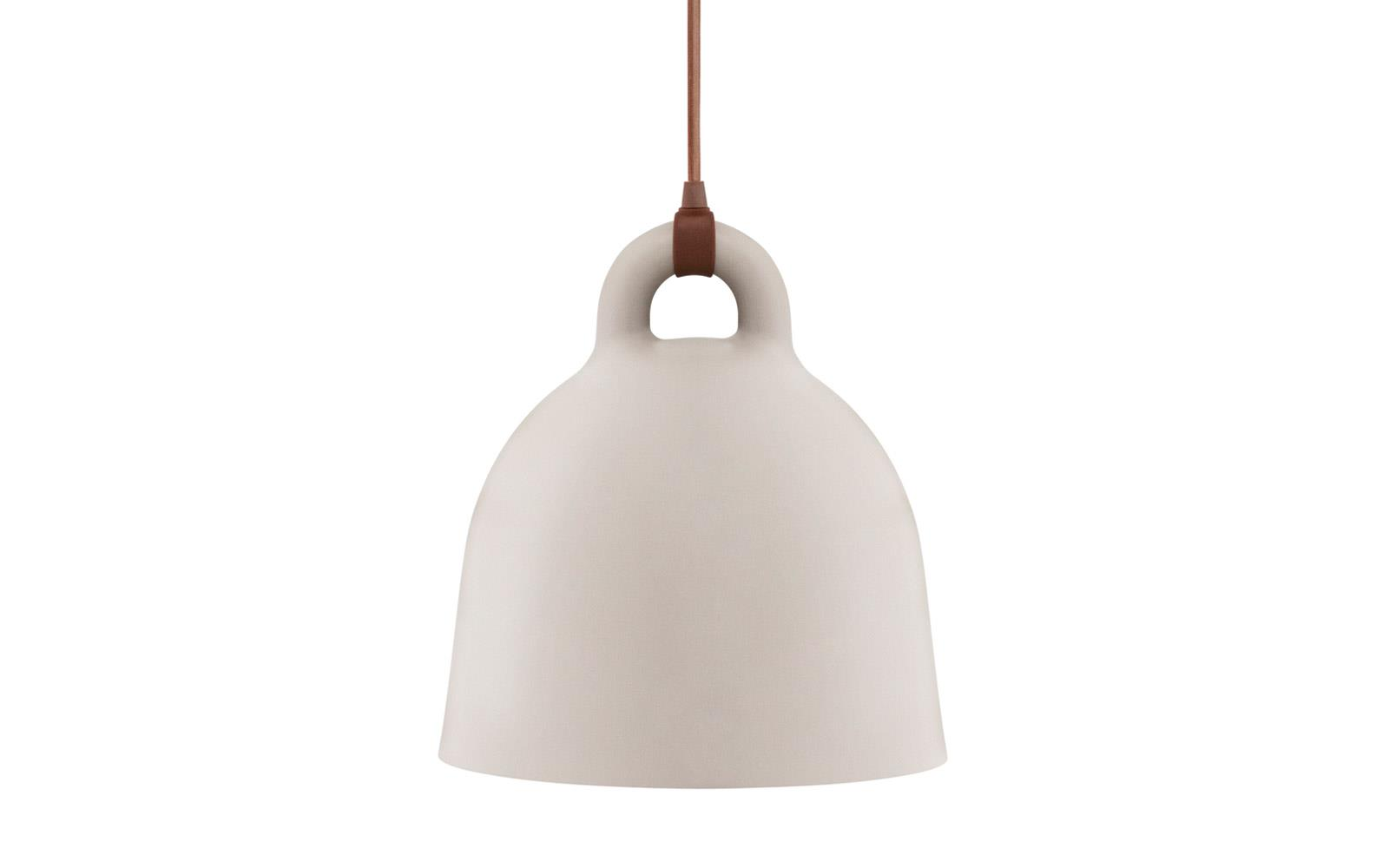 Nytt Bell Lamp large | A robust and minimalistic ceiling lamp in matte grey QA-35