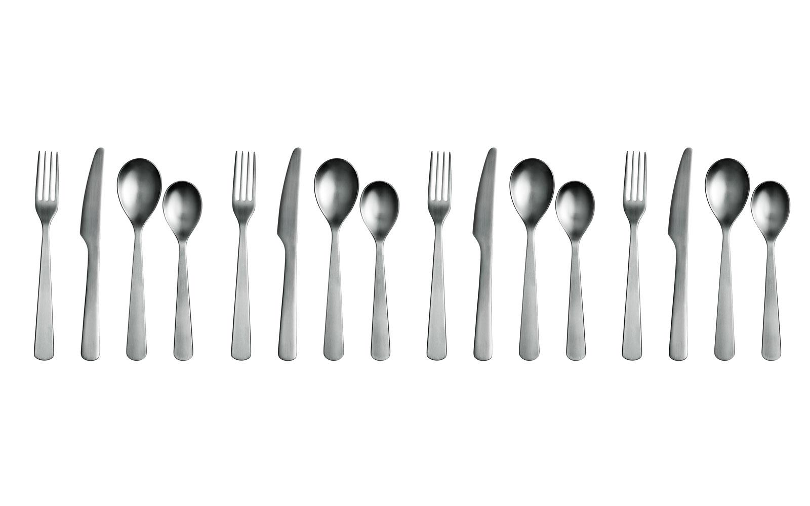 16 PCE PRESENTATION BOXED STAINLESS STEEL TABLE KITCHEN CUTLERY SET SPOON FORK