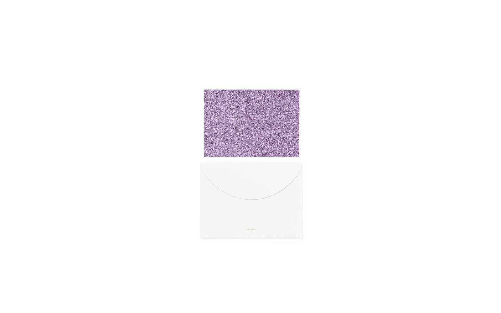 Grußkarte klein Rouge | Für kleine Notizen