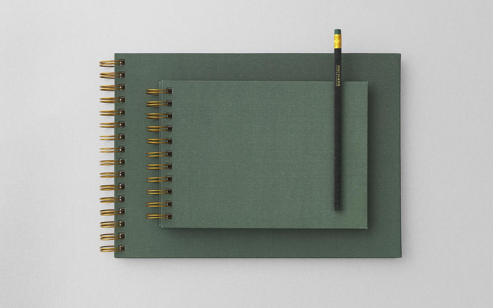 Notebook Gold Spine large2