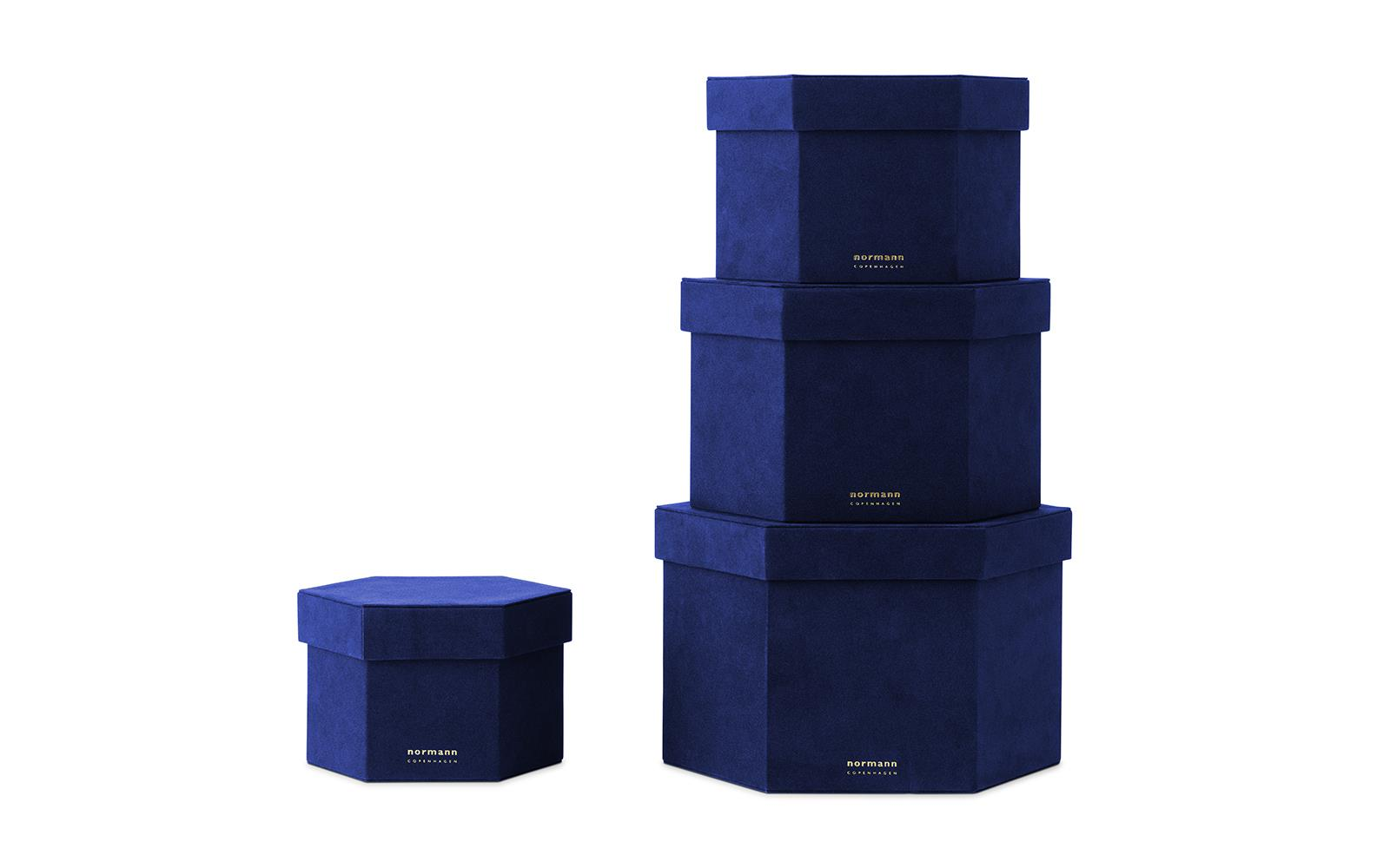 Velour Boxes 4 pcs1