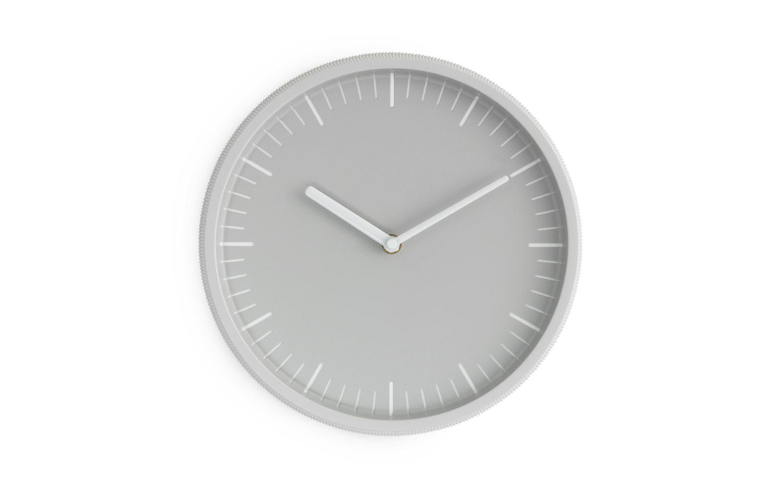 Light Grey Day Wall Clock Scandinavian Deday Is A Simple Wall