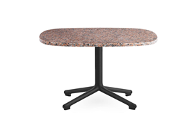 Era Table 675 x 66 cm Black Alu1