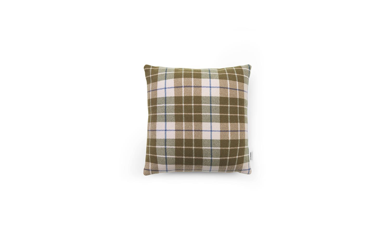 Plaid Normann Copenhagen.Flair Cushion 40x40 Ecru Tartan