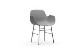 Form Armchair Chrome1