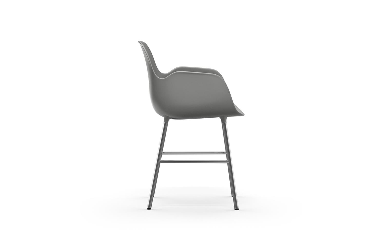 Form Armchair Chrome3