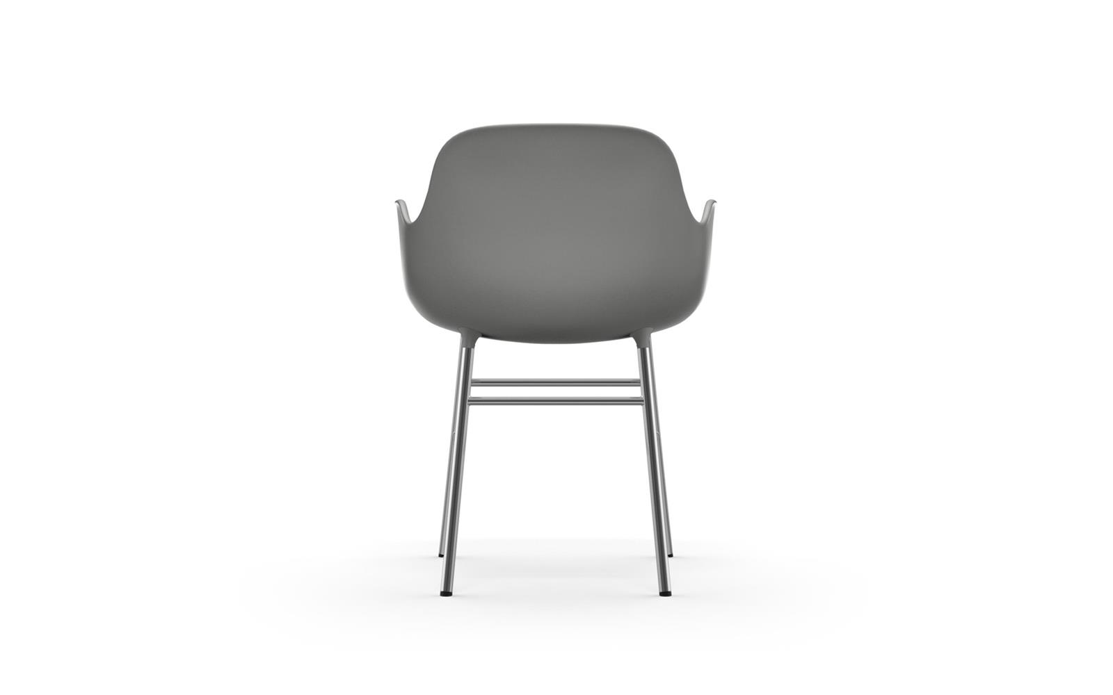Form Armchair Chrome4