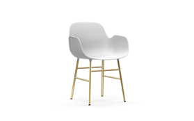 Form Armchair Brass1