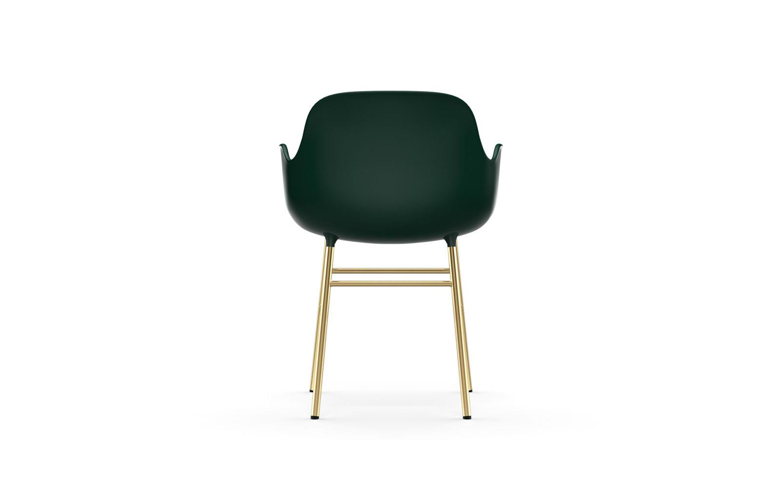 Form Armchair Brass4