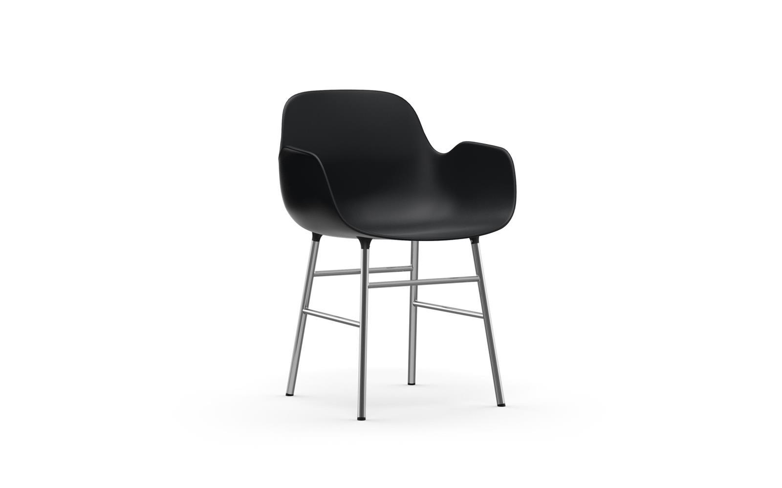 Form Armchair Chrome1