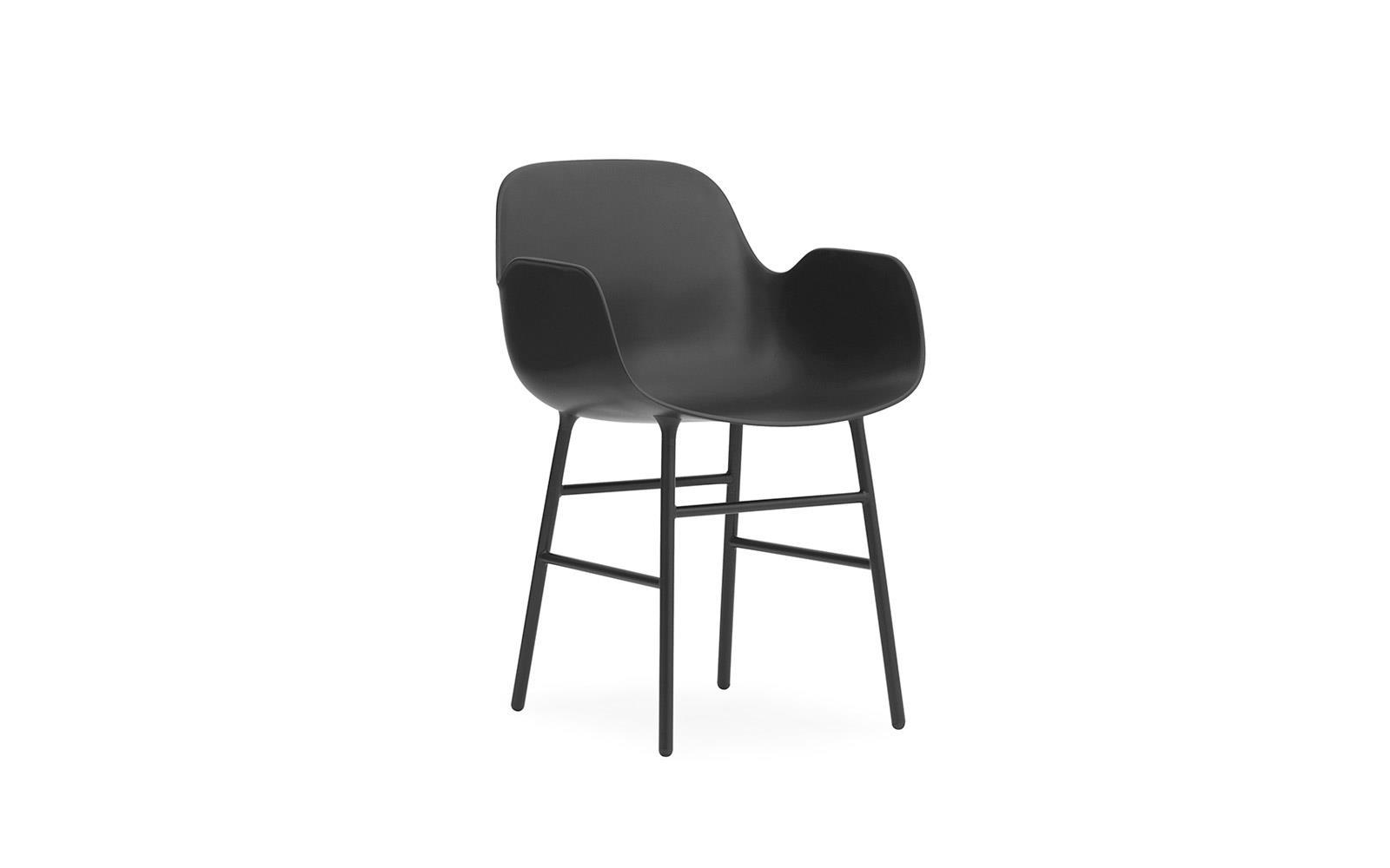 Form Armchair Steel1
