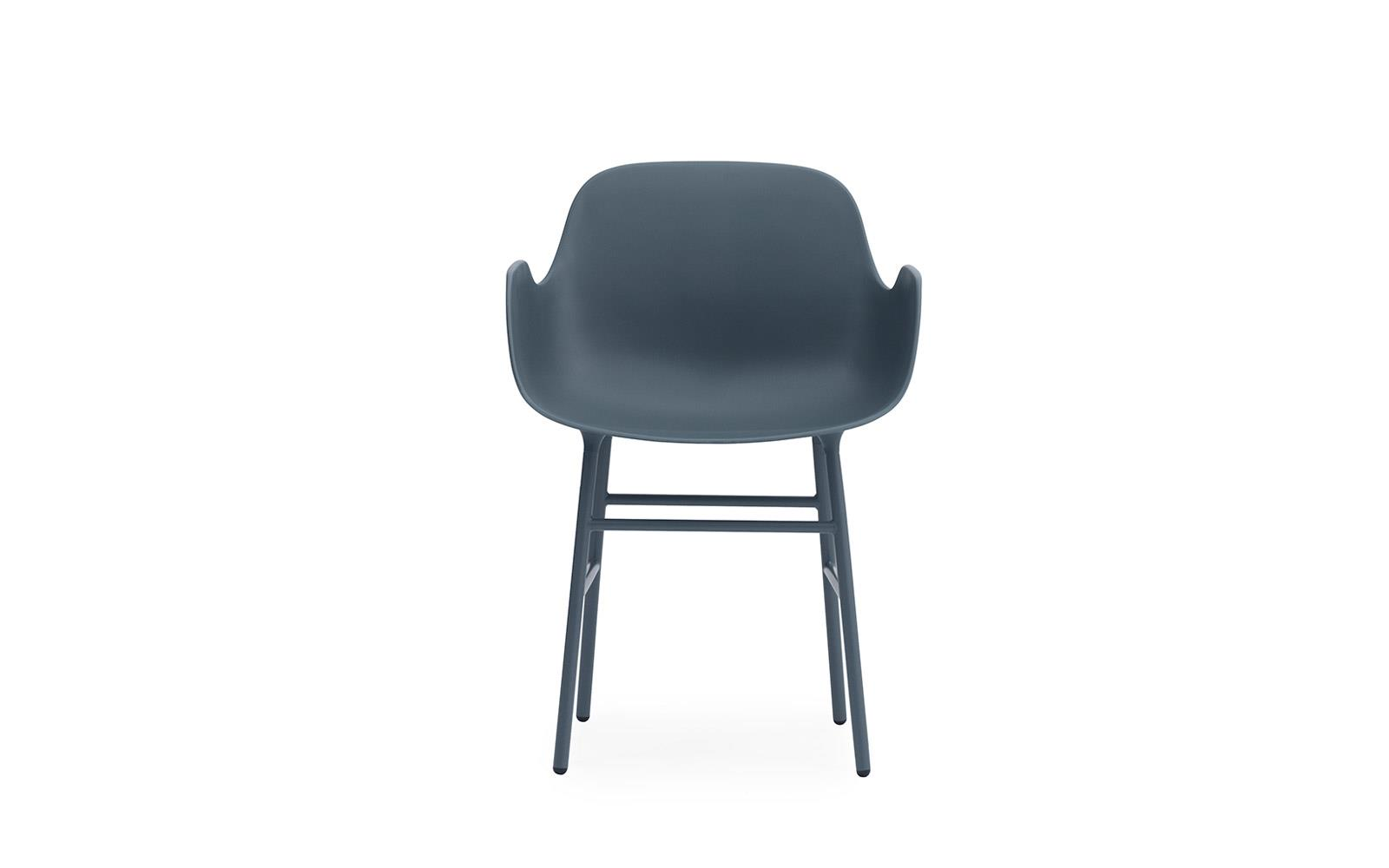 Form Armchair Steel2