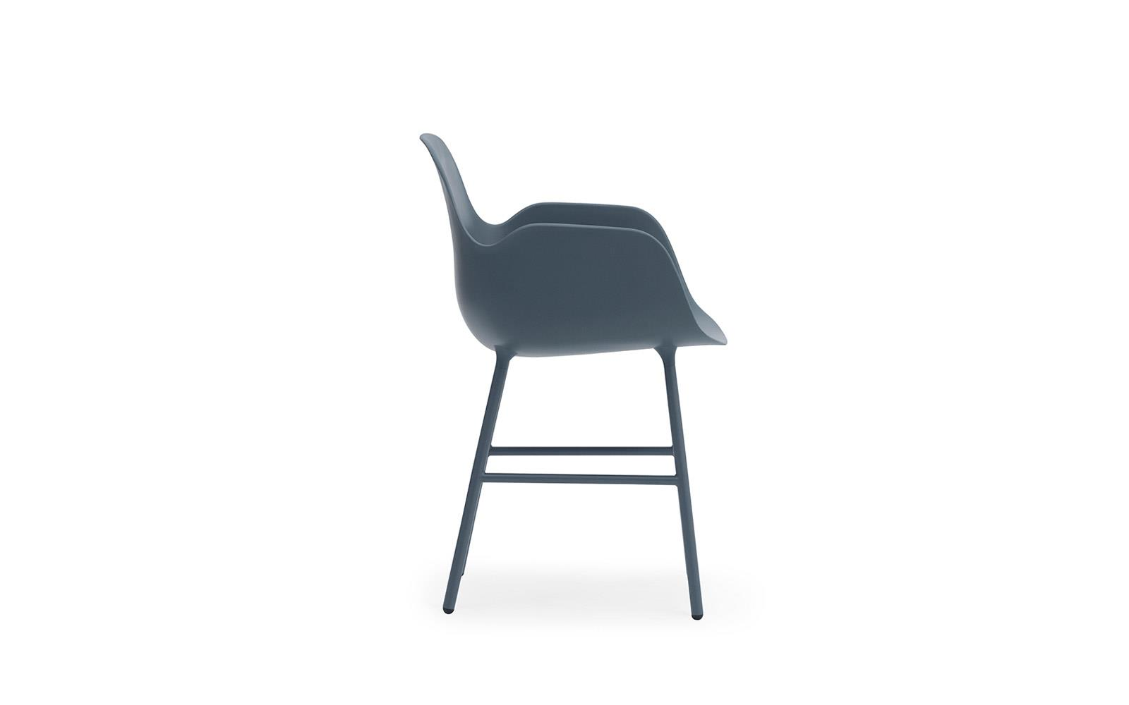 Form Armchair Steel3