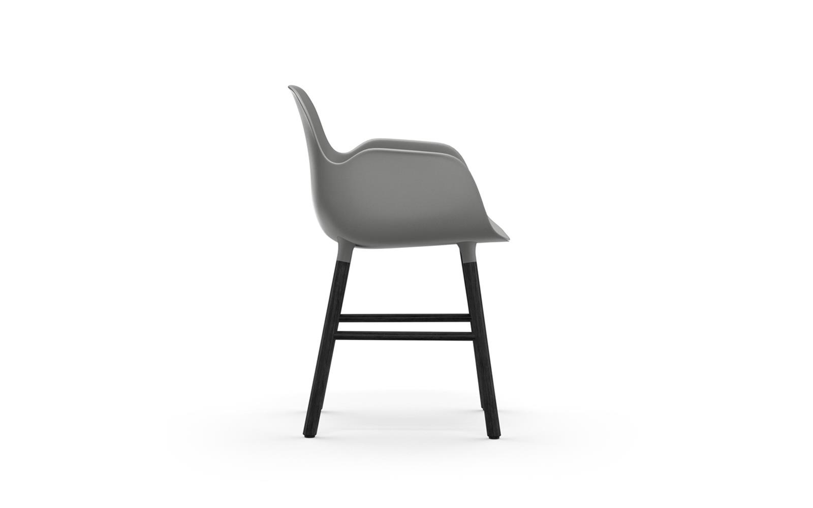 Form Armchair Black3