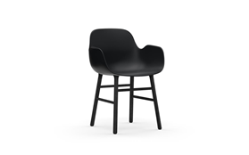 Form Armchair Black1