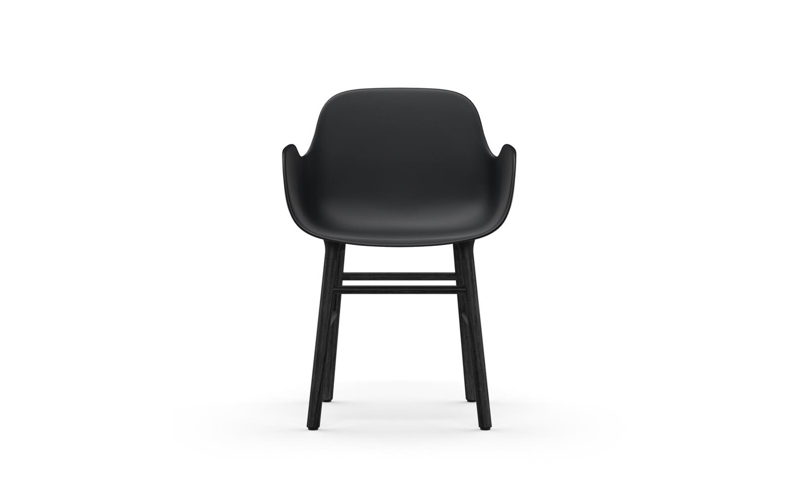 Form Armchair Black2