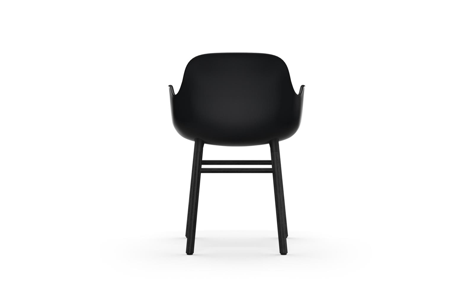 Form Armchair Black4