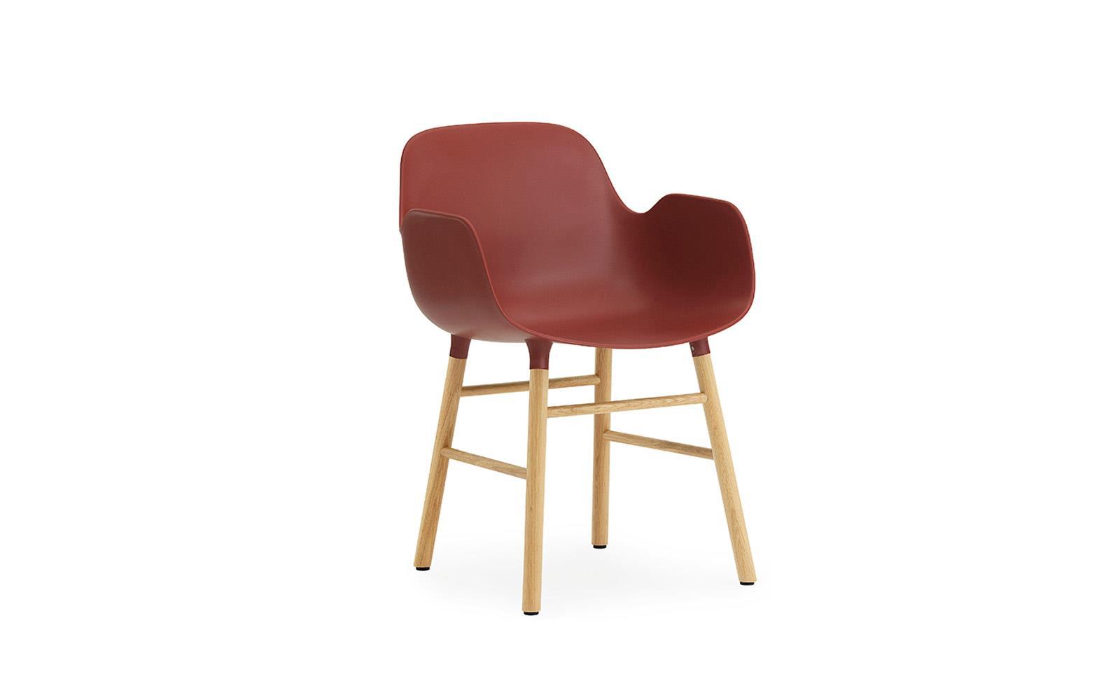 Form Armchair Oak1