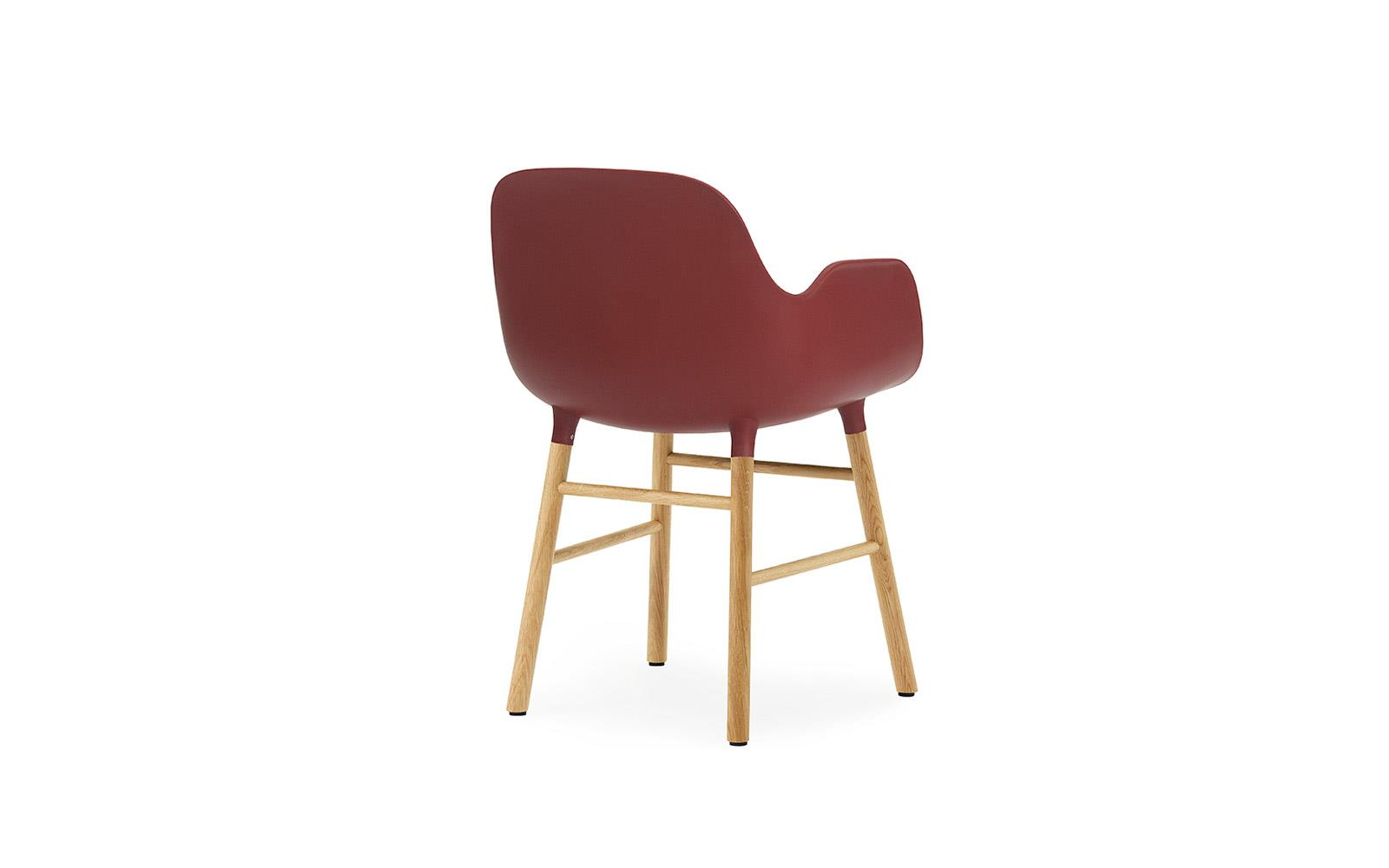 Form Armchair Oak4