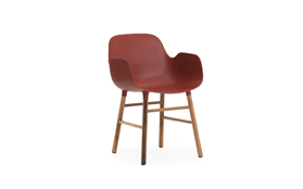 Form Armchair Walnut1
