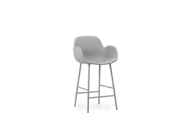 Form Bar Armchair 65 cm Full Uph Steel1