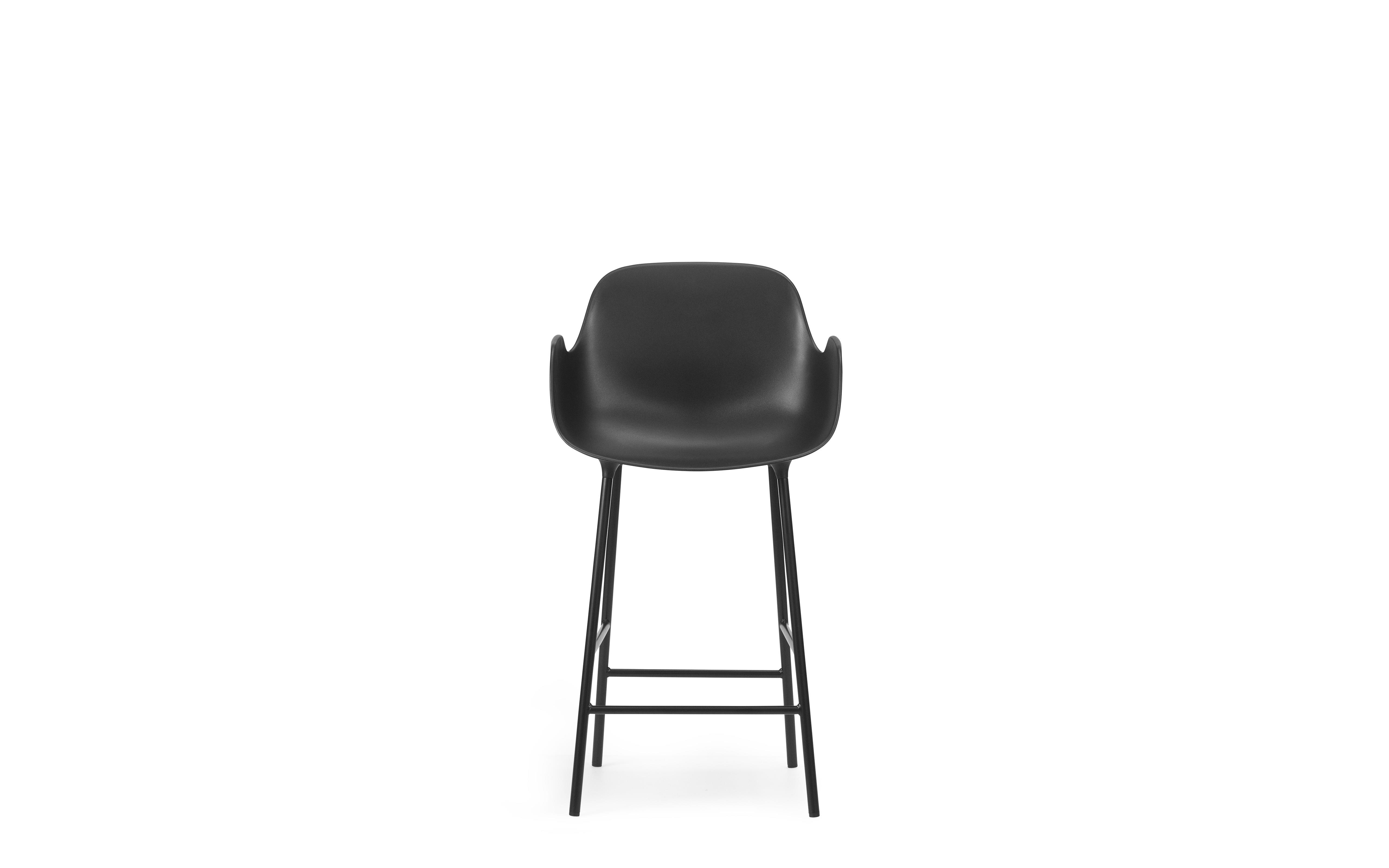Form Bar Armchair 65 cm Steel2