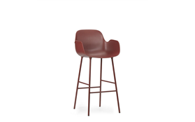 Form Bar Armchair 75 cm Steel1