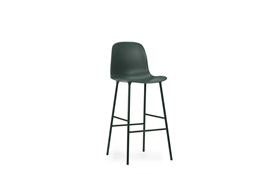 Form Bar Chair 75 cm Steel1