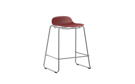 Form Barstool 65 cm Stacking Chrome1
