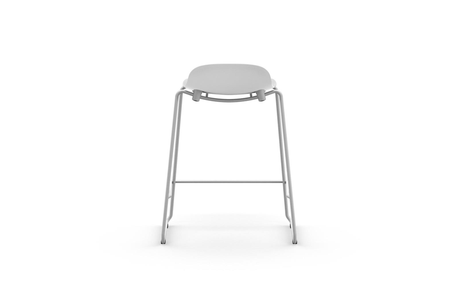 Form Barstool 65 cm Stacking Steel4